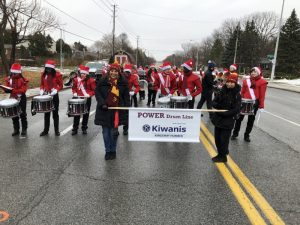 Michael Power Drum Line - Kiwanis Banner