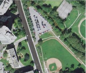 Kiwanis parking lot 2