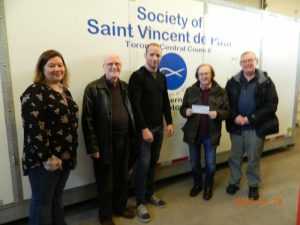 St Vincent de Paul Cheque Ptrsentation 003